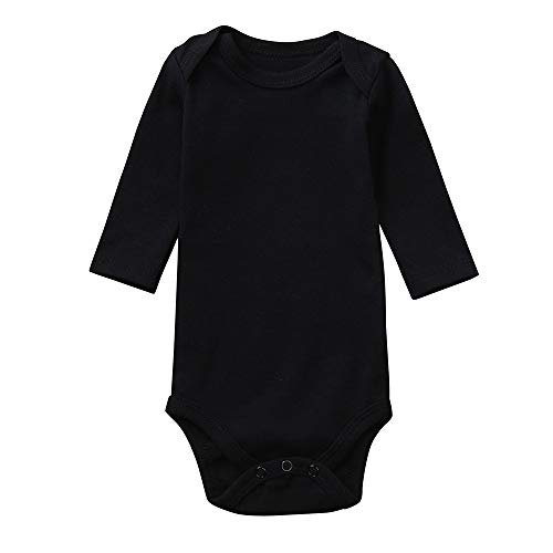 XoiuSyi,Toddler Infant Baby and Boys Fashion Solid Romper Newborn Long Sleeves (Ruffled Satin Nightgown)