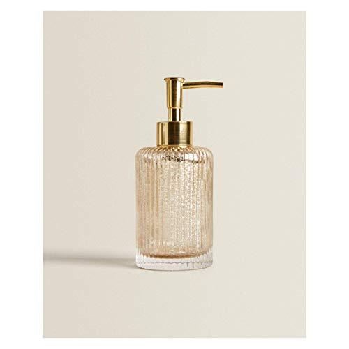 Zuinig Aanrecht zeep dispensers Nordic stijl retro glazen lotion fles licht luxe zeep fles sub bottelen hotel douchemelk…