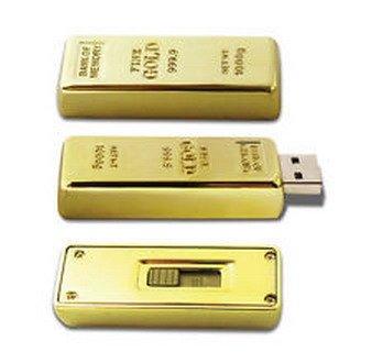 gold bar flash drive - 6