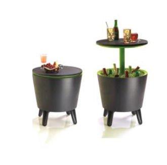 Keter-Caf-und-Loungetisch-Cool-Bar-Kunststoff-anthrazit-ausziehbar