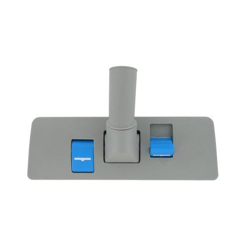 (Nilfisk 32 mm Universal Nilfisk Grey Plastic Dual Blue Pedal Floor Tool Nozzle)