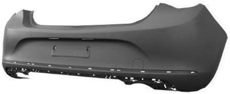 Trade Vehicle Parts OP5089 Rear Bumper Primed Compatible With Astra J 5Dr Hatchback 2012-2015