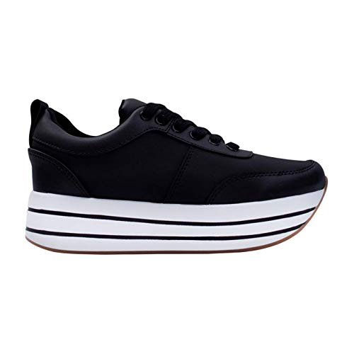 Amazon.com: MERCEDES CAMPUZANO 2365 Platform Sneakers For Women | Zapatos Plataforma: Clothing