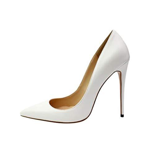 7c06cbb2f4 Chaussures Bureau De Bout Talons Hauts Stiletto Escarpins Fête Femmes  Partie Mariage Dame 4 12cm Pointu ...
