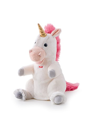 Trudi - 29910 - Marionnette À Mains - Unicorne - 25 Cm