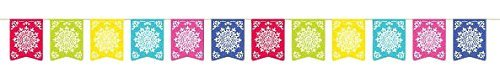 Amscan Cinco De Mayo Del Sol Flag Banner Party Decoration | Plastic