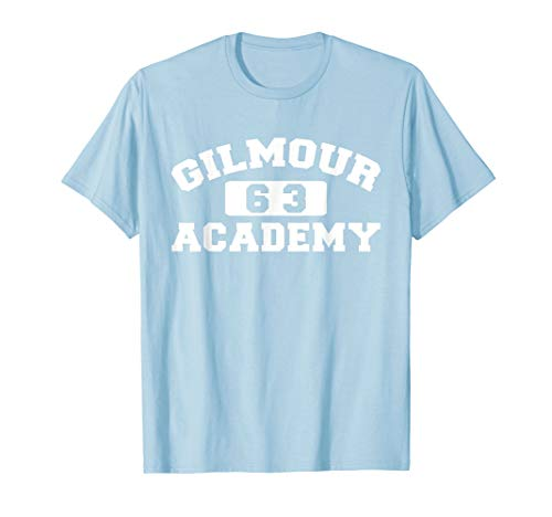 Gilmour Anvil - Gilmour 63 Academy Light Blue T shirt Vintage Style
