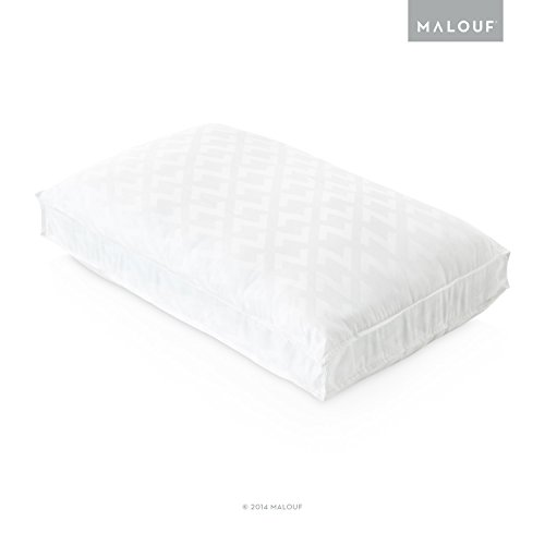 Z Convolution Pillow - Gel Infused Dough Memory Foam Core with GELLED Microfiber Fill - 3 Levels of Support - 3 Year U.S. Warranty - King - High Loft