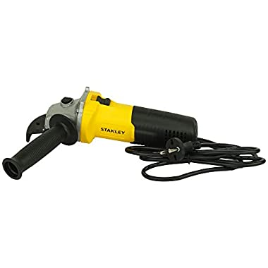 STANLEY STGS6100 600W, 100mm Small Angle Grinder (Yellow and Black) 12