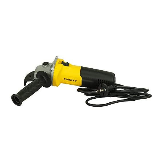 STANLEY STGS6100 600W, 100mm Small Angle Grinder (Yellow and Black) 6