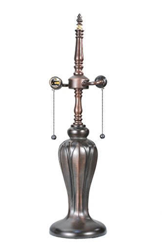 24 Inch Tulip Vase Base/2lt Inch S Inch Clstr , Lamp Bases And Fixture Hardware , ()