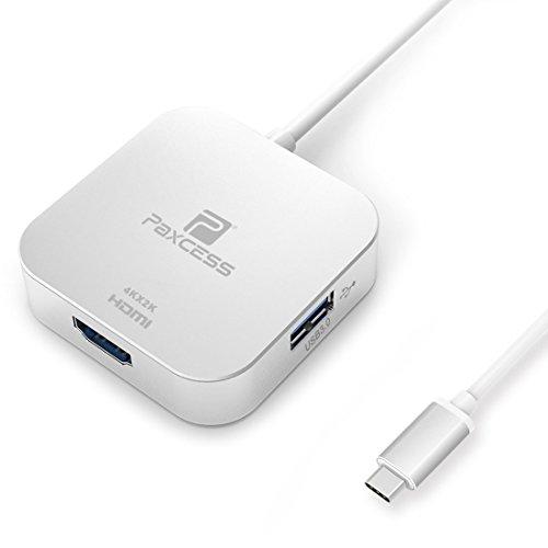 Thunderbolt 3 USB Type-C HUB Adapter, Aluminum Multi-Port US