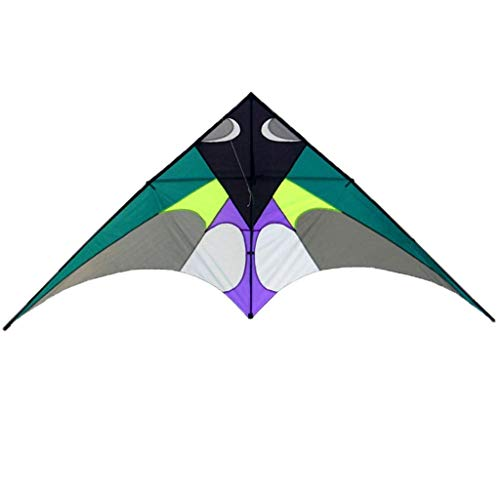 Triangle Kites, Large Rod Resin Breeze Easy to Fly Splicing Kites Outdoor Adult Kites Beach, 300 136 cm,A