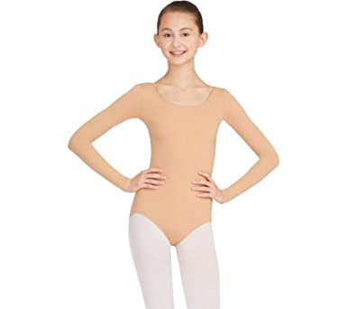 3a9f71991 Amazon.com  Capezio Dance Women s Long Sleeve Leotard TB135 (Set of ...