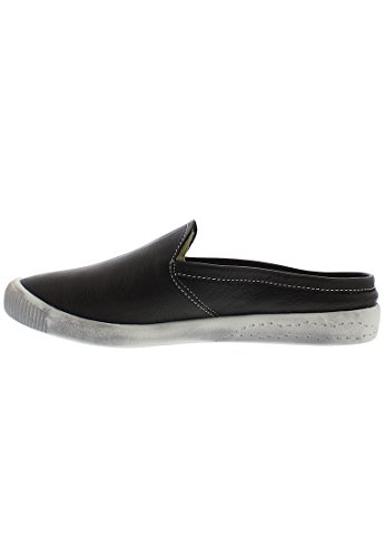 Fly London Donna Imo447sof In Pelle Liscia Nera