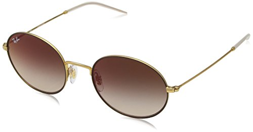 Ray Gafas de 9115S0 sol BROWN GOLD RUBBER RB3594 ON Ban ww0r14q