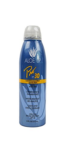 Price comparison product image Aloe Up Sun & Skin Care Products Pro Series SPF 30 Continuous Sunscreen Spray