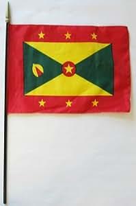 Granada - Diseño de World 20,32 cm x 30,48 cm de la bandera de