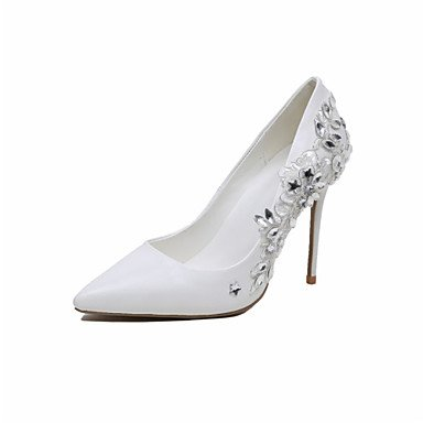 Shoes Flower Pump Women'S Basic Party Spring Microfibre Customized CN41 Girl Materials Shoes Fall EU40 Wedding Evening amp;Amp; Wedding Dressrhinestone US9 RTRY UK7 0wgAq4n