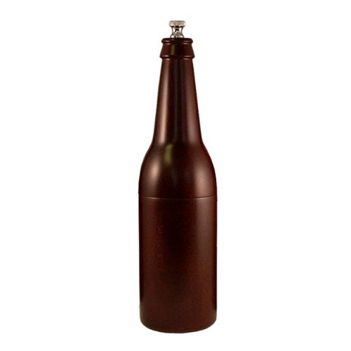 Chef Specialties 9.5 Inch Beer Bottle Pepper Mill