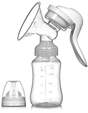 JADE KIT Manuell bröstpump - Bärbar sugande silikon Amning Manuell bröstpump, BPA-fri