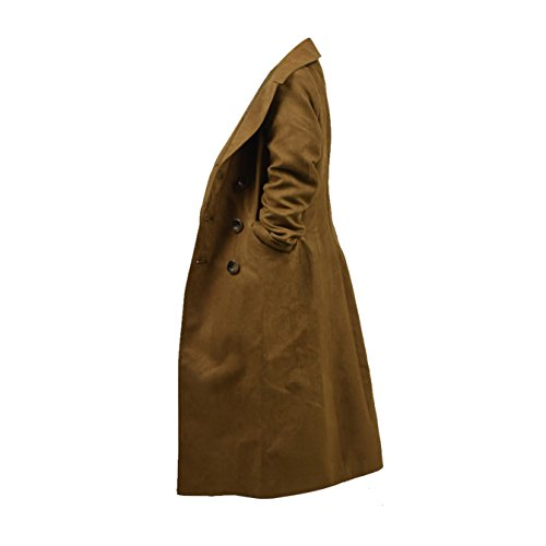 YANGGO Children's Party Halloween Outfit Cloak and Trench Coat Costume (X-Small, Brown Trench Coat) by YANGGO (Image #2)