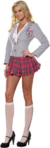 [Charm School Dropout Adult Costume Adult (X-Large)] (Catholic School Girl Costumes Halloween)