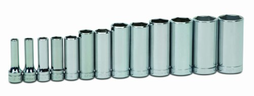 Williams WSBD-13HRC 13-Piece 3/8-Inch Drive Deep 6 Point Socket Set