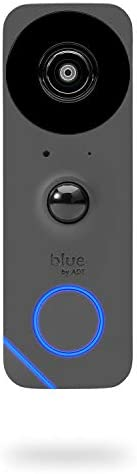 Blue by ADT Doorbell Camera – HD Video Doorbell – 2-Way Talk – Night Vision – Facial Recognition – DIY Smart Home Security – No Contract – Alexa Compatible