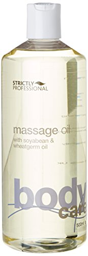 Strictly Professional Massage Oil with Soya Bean and Wheatgerm 500 ml