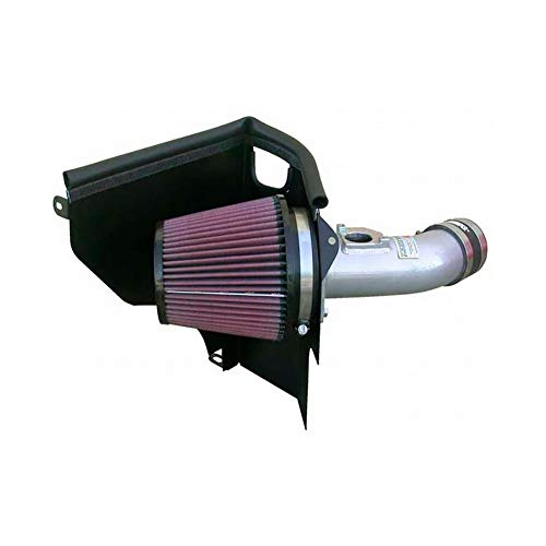 K&N 69-8001TWR Typhoon Air Intake Kit, Short Ram, Wrinkle Red
