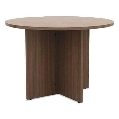 (Alera ALEVA7142WA Valencia Round Conference Table w/Legs, 29 1/2h x 42 Dia, Modern)
