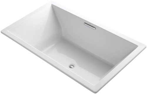 KOHLER K-1137-0 Underscore 6-Foot Acrylic Bath, White