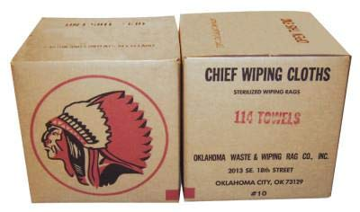 Rags 114-10 Oklahoma Waste and Wiping Rag Turkish Towels Mix Regular Towel Cotton Terry, 10-Pound Carton (Pack of 10)