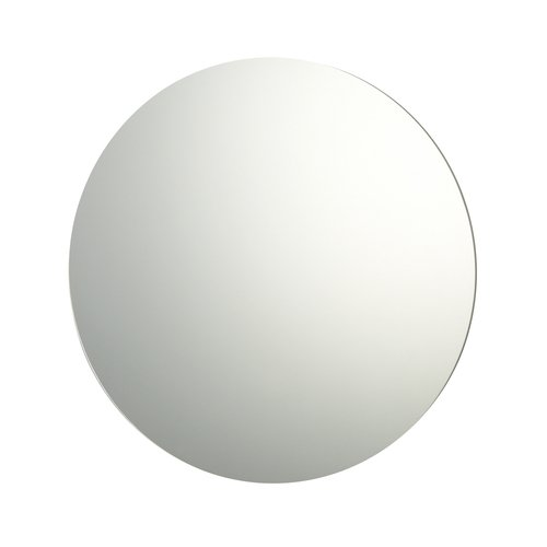 60cm Diameter Plain Frameless Bathroom Circular Mirror with Wall Fixings by Reflex Sales & Marketing Ltd.