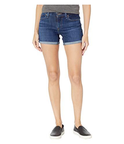 Levi's Women's Mid Length Shorts, Dark Indigo Moon, 30 (US 10)