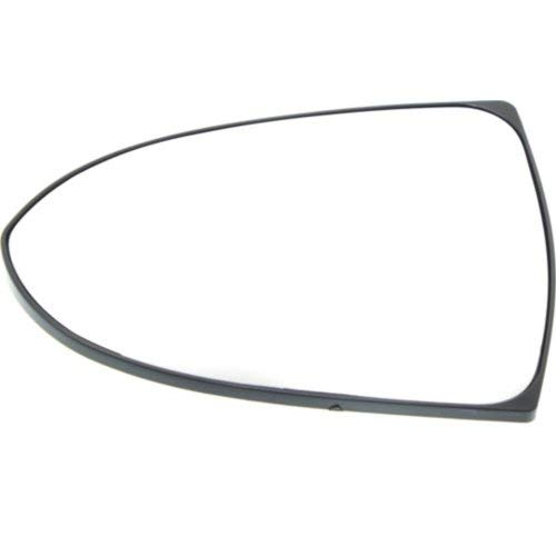 (Mirror Glass for Kia Sportage 11-16 Left Side Heated With Backing Plate)