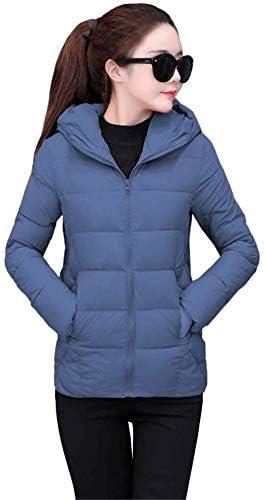DJ Keep Warm Jacket Chaqueta de algodón con capucha corta para mujer Chaqueta de plumón para mujer, azul, 4Xl: Amazon.es: Bricolaje y herramientas