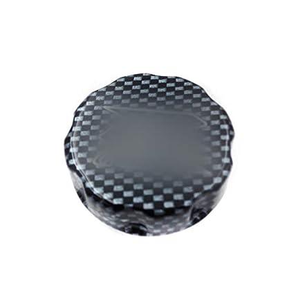 XKH Motorcycle Carbon Fiber Billet Aluminum Fluid Reservoir Cap Cover GSXR Engraved For Suzuki GSXR 600//GSXR 750// GSXR 1000//GSXR 1100// Hayabusa GSXR 1300// SV1000 /& SV1000S// TL1000 S/&R//Bandit