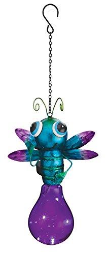 Regal Art & Gift Purple, Solar Firefly Lantern