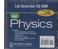 Holt Physics: Lab Generator CD-ROM