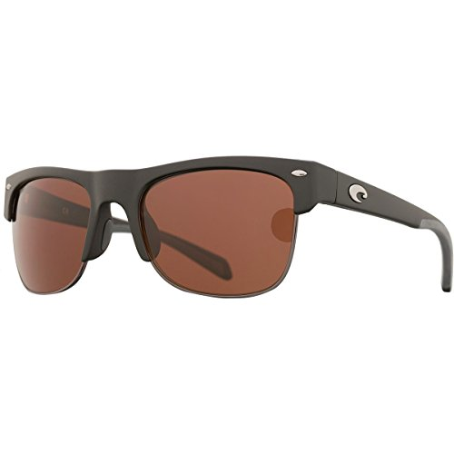 Costa Del Mar Pawleys Sunglasses, Matte Black, Copper 580P - Sunglasses Costa Pawleys