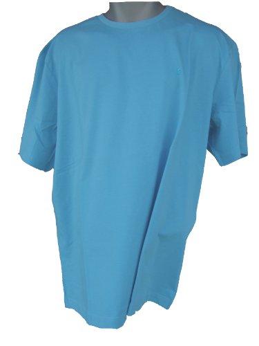 T-Shirt aqua(dolphin), Pierre Cardin, Rundhals, Gr. XXL - 4XL