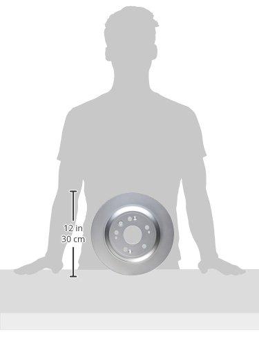 2010-2011 Accord Crosstour 2012-2015 Crosstour; Rear Bosch 26011452 QuietCast Premium Disc Brake Rotor For Honda