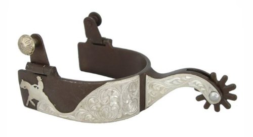 Reining Horse Shows (Silver Engraving Reining Horse Western Show Spurs)
