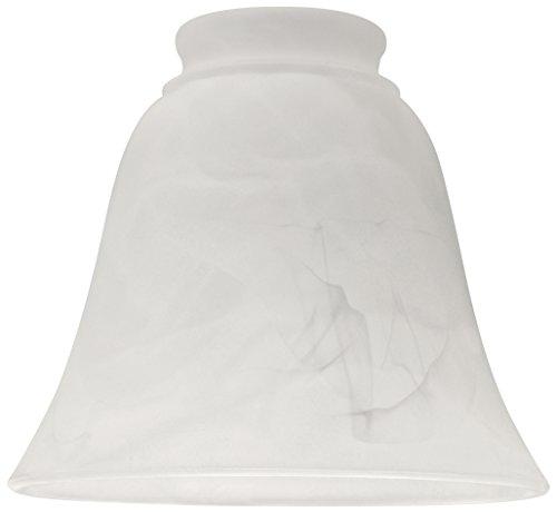 Ellington Glass Ceiling Fan (Craftmade 635A Fan Glass, 2-1/4