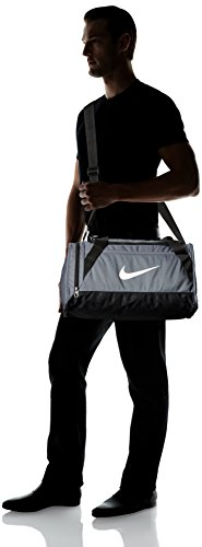 b027b0a9858110 Nike Brasilia 6 X-Small Duffel Bag Flint Grey Size X-Small: Amazon.co.uk:  Clothing