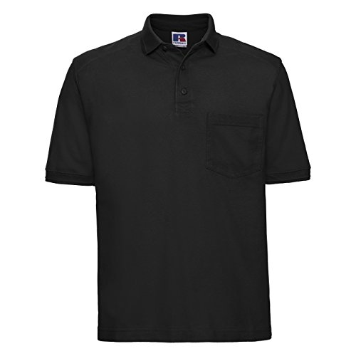 6a8739af761 Russell Workwear Mens Heavy Duty Short Sleeve Polo Shirt | Weshop ...