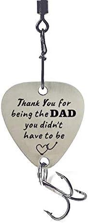 liduola ステップダッド フィッシングルアー ギフト 義父 クリスマス 父の日 ウェディングギフト 娘 息子から - お父さん あなたにならなくてはならないことをありがとう。