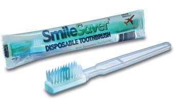 SmileSaver Pre-Pasted Disposable Toothbrushes